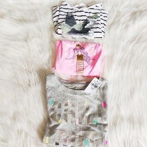 Bundle of Girls 4-6 T Shirts and Tank Top